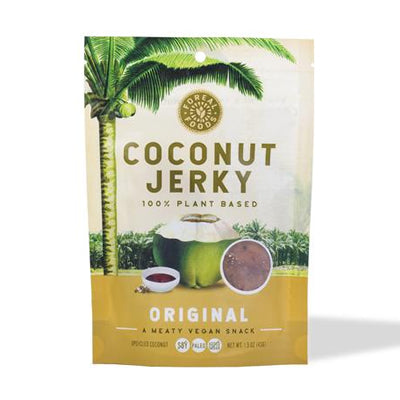 Coconut Jerky, 1.5oz, FoReal Foods