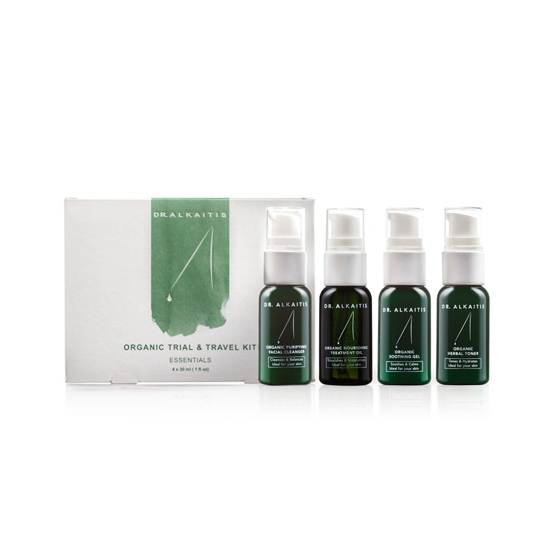 Organic Skin Care Travel Kit, Dr Alkaitis