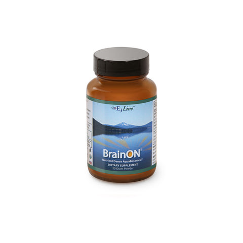 BrainOn, Mood and Focus Enhancer, E3 Live, 50g Powder