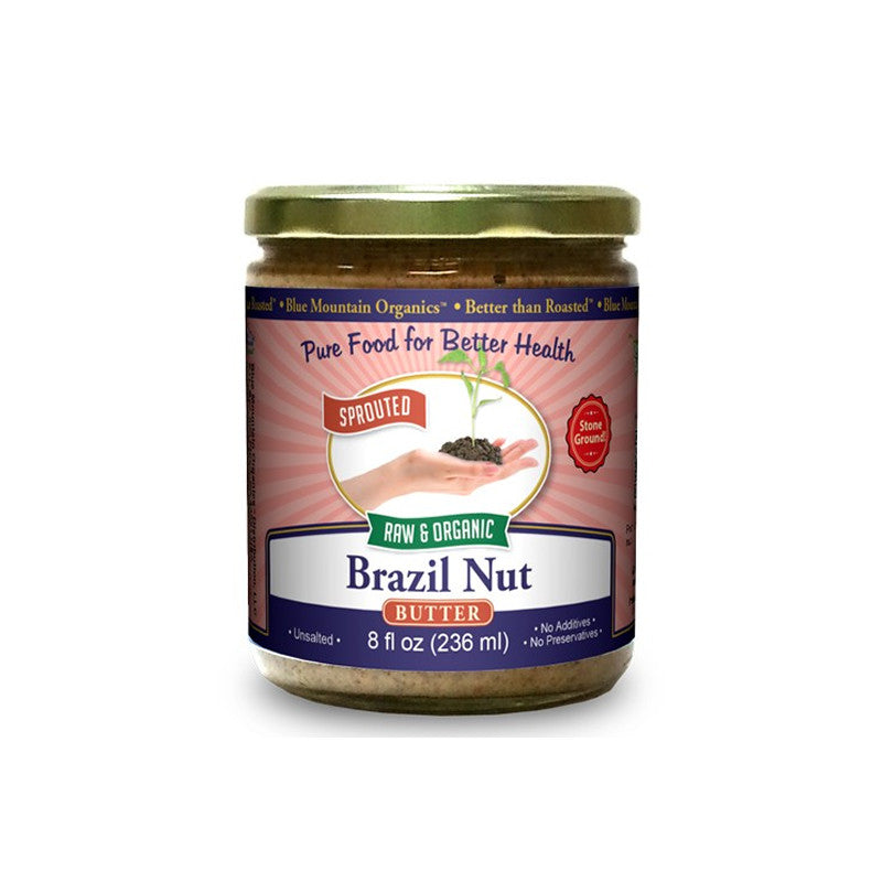 Brazil Nut Butter, 8oz, Blue Mountain Organics