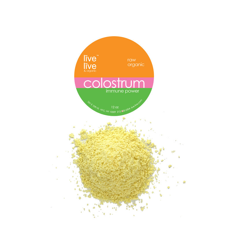 Colostrum, Live Live & Organic