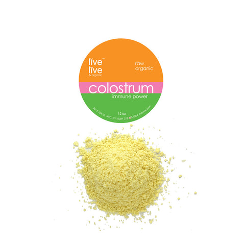 Colostrum, Live Live & Organic™