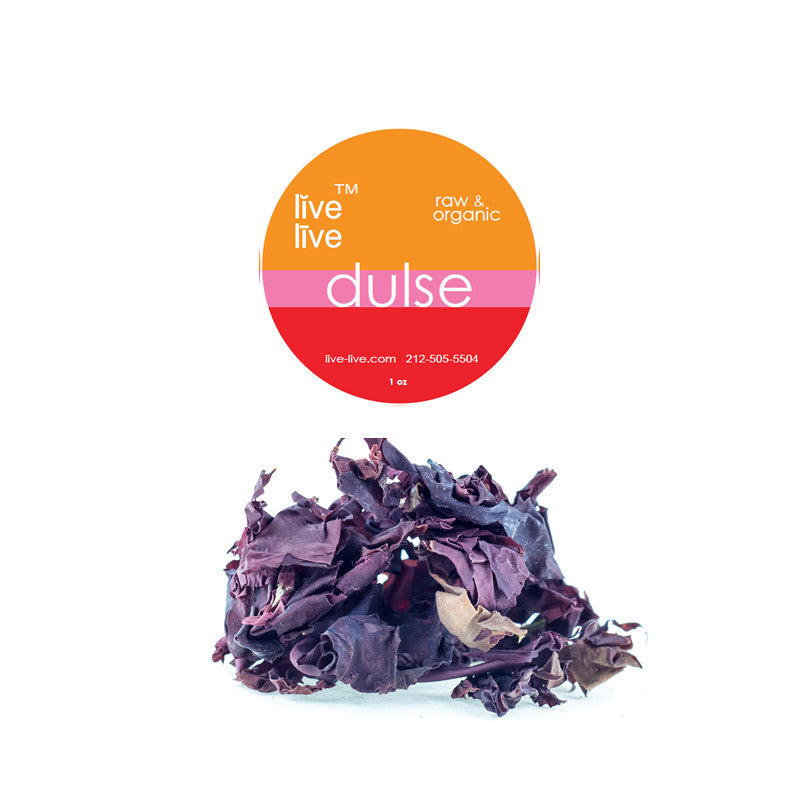 Dulse, Raw and Wildcrafted, 1oz