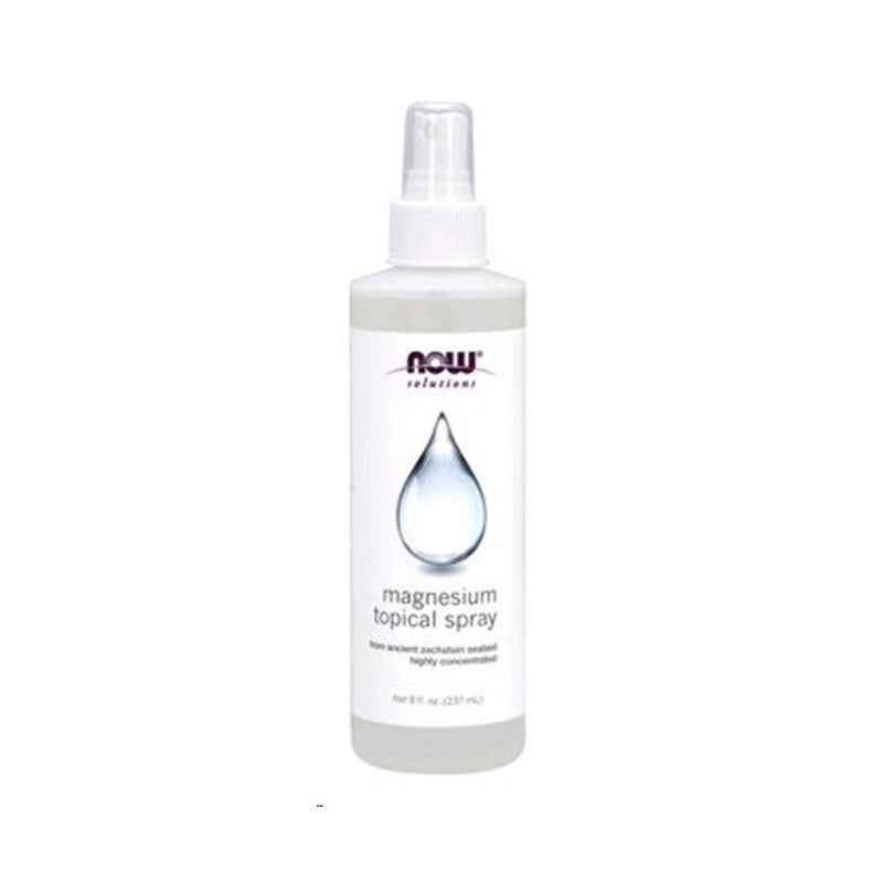 Magnesium Topical Spray, 8oz, NOW Solutions