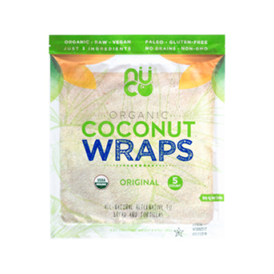 Coconut Wraps, 5 Pack, Nuco