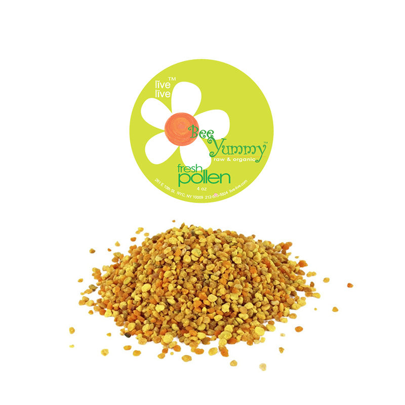 Bee Pollen, New York State, Live Live & Organic