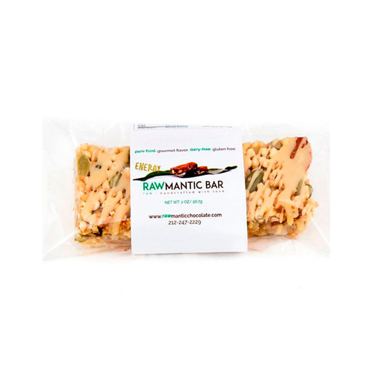 Rawmantic White Energy Bar, 2oz