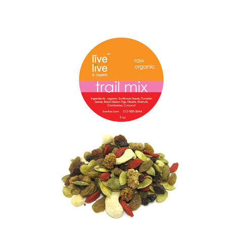 Organic Trail Mix, 5oz, Live Live & Organic