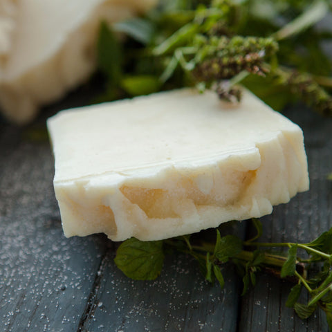 Peppermint Sea Salt Soap - Farm to Bath