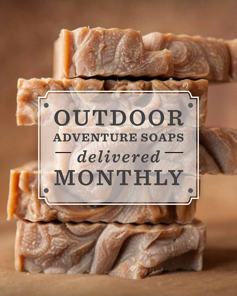 Outdoor Adventure Monthly Soap Subscription