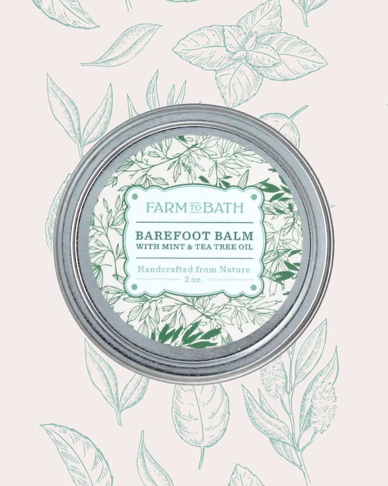 Barefoot Balm with Mint and Tea Tree Oil