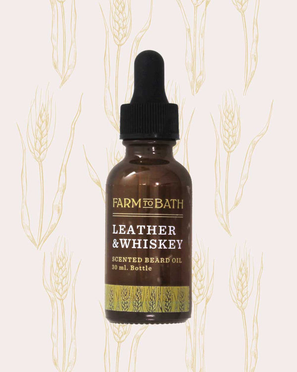 Beard Oil - Leather & Whiskey