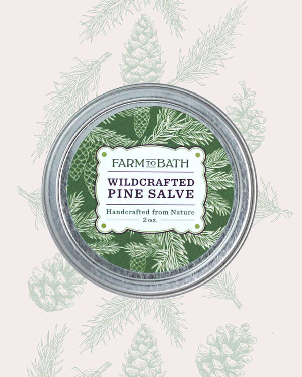 Wildcrafted Pine Salve