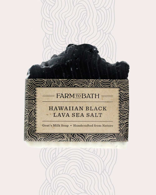 Hawaiian Black Lava Sea Salt Soap
