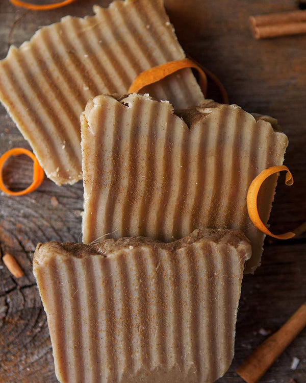 Honey Carrot Cinnamon Soap