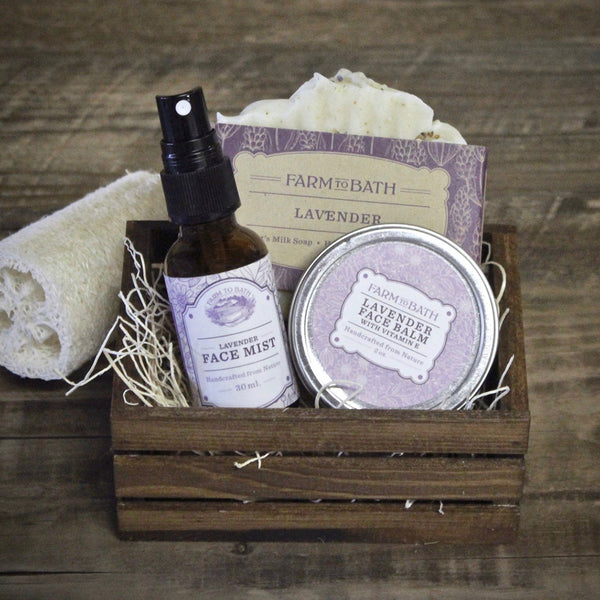 Lavender Lover's Face Package # 2