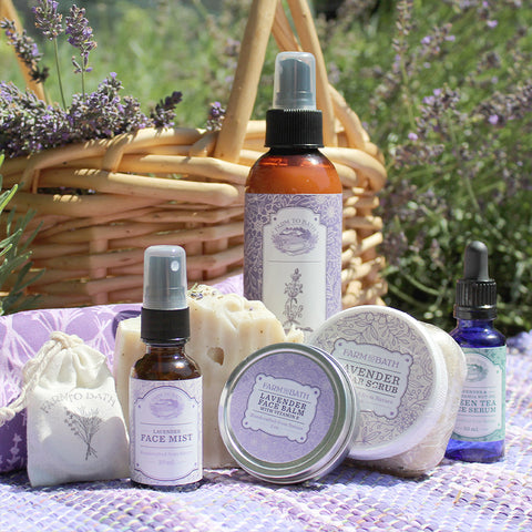 Lavender Lovers Pampered Ultimate Gift Box