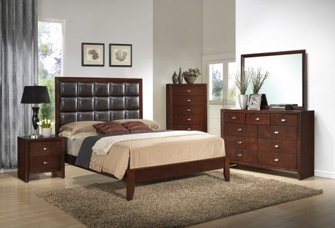 Carolina Bedroom set Queen Size bed / Juego de Recámara Carolina cama Queen Size