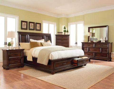 Vineyard Bedroom set King Size bed / Juego de Recámara Vineyard cama King Size