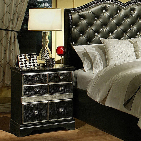 Hollywood Glamour Nightstand / Buró Hollywood Glamour