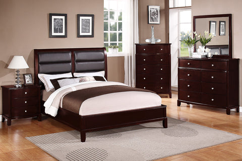 Updated 9175 Bedroom set King Size Bed / Juego de recámara Updated 9175 cama King Size