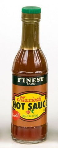 Finest Brand Mexicali Hot Sauce - 6 oz