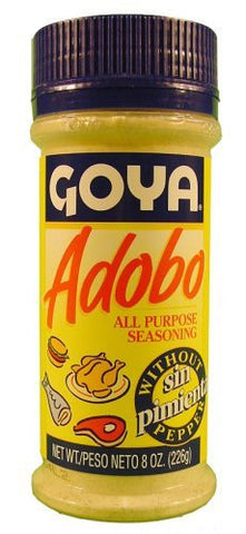 Goya Adobo All Purpose Seasoning without Pepper - 8 oz
