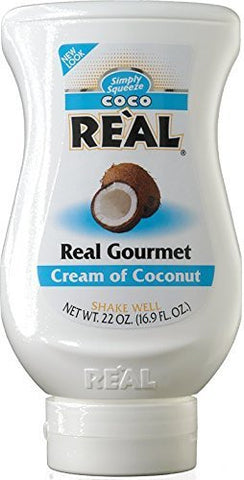 Simply Squeeze Coco Real Gourmet Cream of Coconut - 21 oz