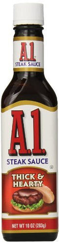 A1 Thick & Hearty Steak Sauce - 10 oz