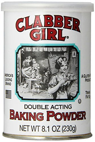 Clabber Girl Double Acting Baking Powder - 8.1 oz