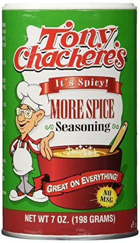 Tony Chachere's More Spice Creole Seasoning - 7 oz