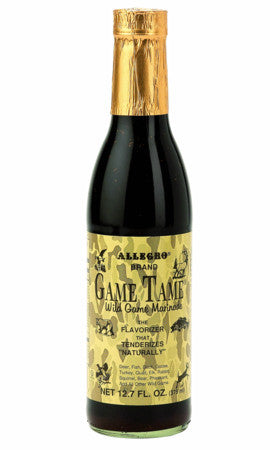 Allegro Game Tame Wild Game Marinade the Flavorizer that Tenderizes 12.7 oz