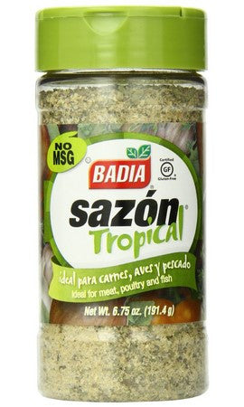 Badia Sazon Tropical Green - 6.75 oz
