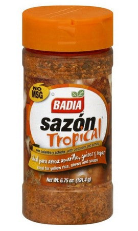 Badia Sazon Tropical with Coriander and Annato - 6.75 oz