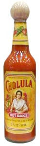Cholula Mexican Hot Sauce with Wooden Stopper Top - 12 oz