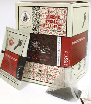 Harney & Sons Fine Teas Organic English Breakfast - 20 Wrapped Sachets