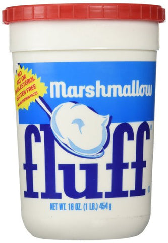 Original Marshmallow Fluff - 16 oz plastic tub