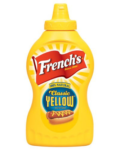 French's 100% Natural Classic Yellow Mustard - 14 oz Squeeze Bottle