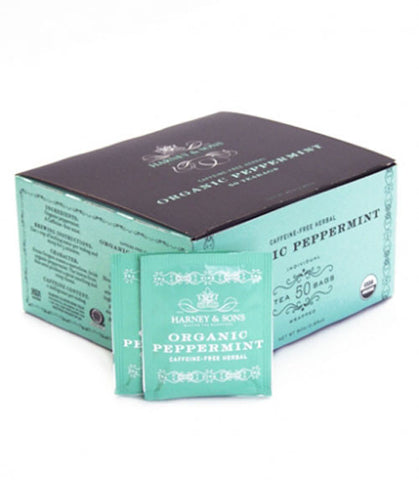 Harney & Sons Fine Teas Organic Peppermint - 50 Tea bags