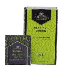 Harney & Sons Fine Teas Tropical Green - 20 Tea bags