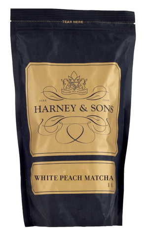 Harney & Sons Fine Teas White Peach Matcha Loose Tea - 16 oz