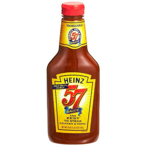 Heinz Original 57 Sauce - 20 oz Squeeze Bottle