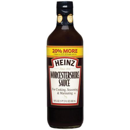 Heinz Worcestershire Sauce for Cooking and Seasoning - 18 oz