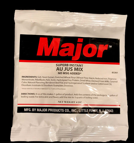 Major Superb Au Jus Mix No MSG Added - 4 oz pouch