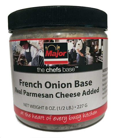 Major French Onion Base with Real Parmesan Cheese Added - 8 oz
