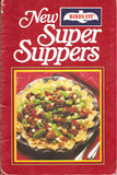 Vintage Birds Eye New Super Supper Cookbook Spiral Bound - 1980 - 1980