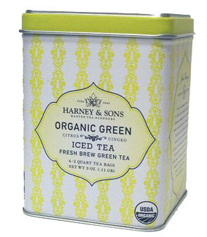 Harney & Sons Fine Teas Organic Green Iced Tea - 6 / Tin