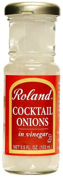 Roland Cocktail Onions in Vinegar - 3.5oz glass jar