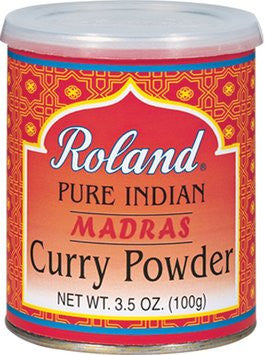 Roland Pure Indian Madras Curry Powder - 3.5 oz