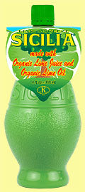 Sicilia Organic Lime Juice - 4 oz